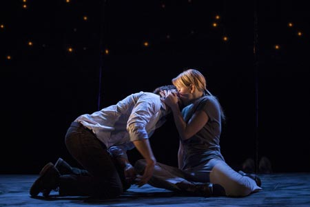 Constellations, di nick payne al teatro vascello di roma. alessandro